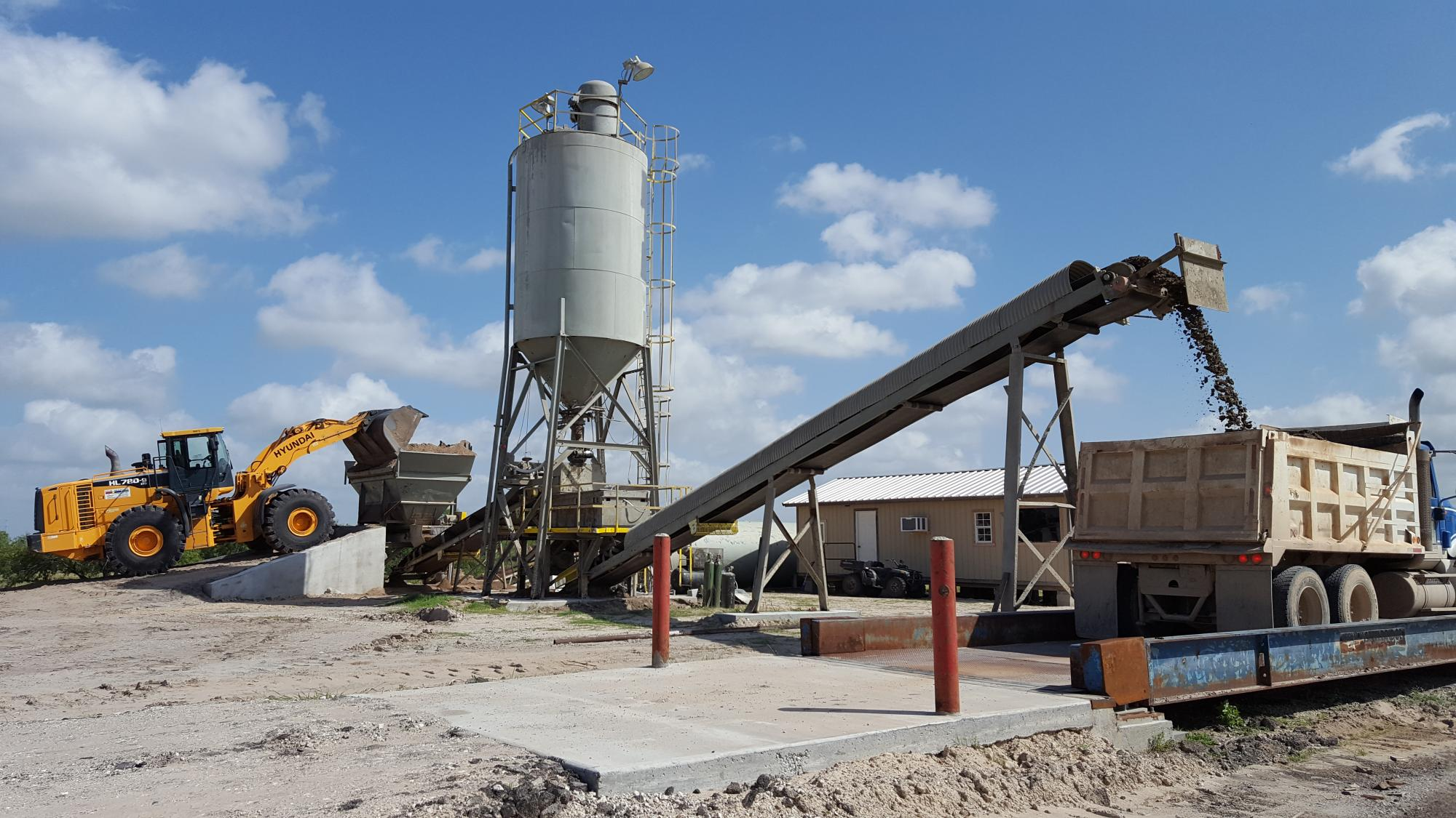 Stabilized sand, Bank Sand, Select Fill, Haul Off Corpus